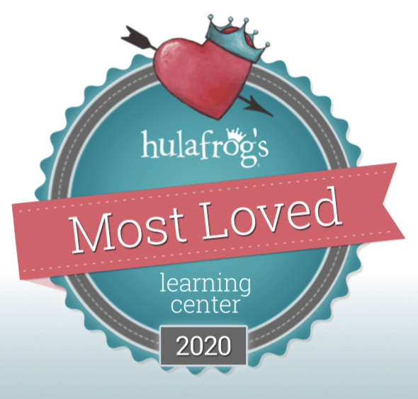 Hulafrog Most Loved Learning Center Award 2020